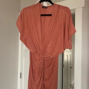 Shein dress size small color rose